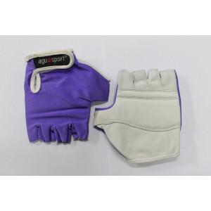 Handschoen AGU elite paars XL